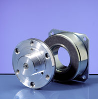 Electromagnetic single surface brake