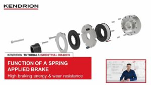 Kendrion Tutorial – Function of a spring-applied brake